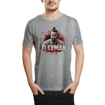 HH - Tankurt Flexman Gri T-shirt (Seçili Ürün)