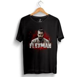 HH - Tankurt Flexman Siyah T-shirt (Seçili Ürün) - Thumbnail