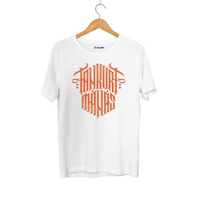HH - Tankurt Manas Tipografi Beyaz T-shirt (Seçili Ürün)