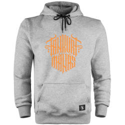 HH - Tankurt Manas Tipografi Cepli Hoodie - Thumbnail