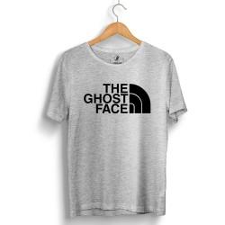 Outlet - HH - The Ghost Face Gri T-shirt (Seçili Ürün)
