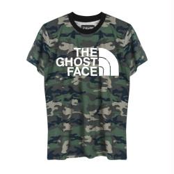 Outlet - HH - The Ghost Face Kamuflaj T-shirt (Seçili Ürün)