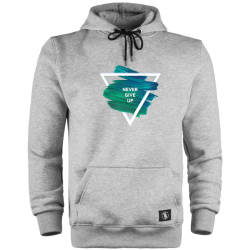 HH - The Street Design Never Give Up Cepli Hoodie - Thumbnail