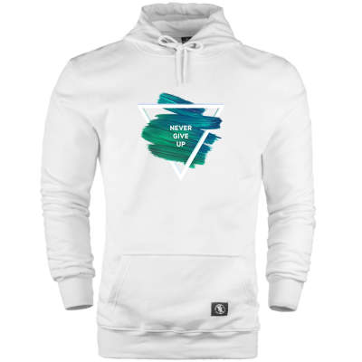 HH - The Street Design Never Give Up Cepli Hoodie