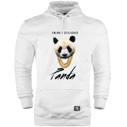 HH - The Street Design Panda Designer Cepli Hoodie - Thumbnail
