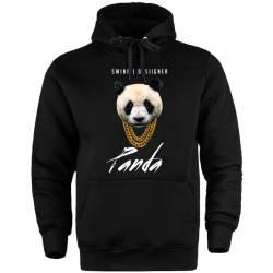 HH - Panda Designer Cepli Hoodie - Thumbnail