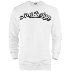 HH - The Street Design Tipografi Sweatshirt - Thumbnail