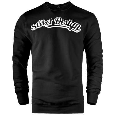 HH - The Street Design Tipografi Sweatshirt