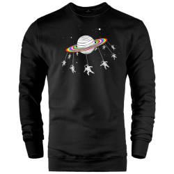 İndirim - HH - The Street Design Unicorn Planet Sweatshirt (Fırsat Ürünü)
