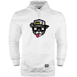HH - The Street Design Zoom Bear Cepli Hoodie - Thumbnail