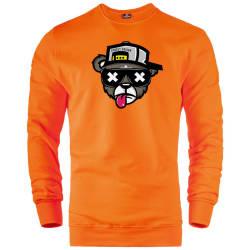 HH - The Street Design Zoom Bear Sweatshirt - Thumbnail