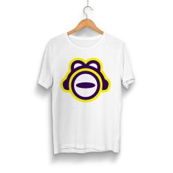 Outlet - HH - ThetaBeta Logo Beyaz T-shirt (Seçili Ürün)