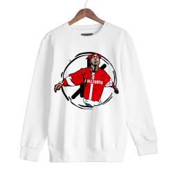 HollyHood - HH - Tupac HH Beyaz Sweatshirt