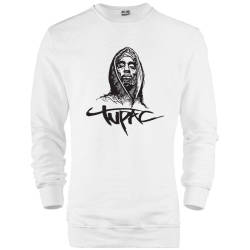 HH - Tupac Portre Sweatshirt - Thumbnail
