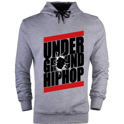 HollyHood - HH - Under Ground HipHop Cepsiz Hoodie(Değişim ve İade Yoktur)