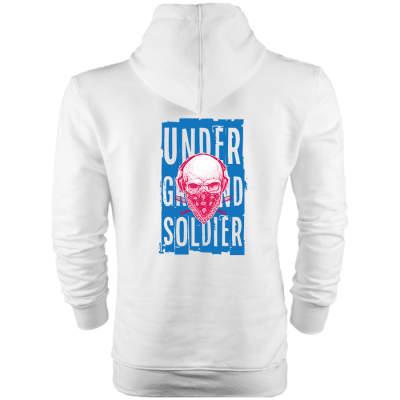 HH - Back Off Under Ground Soldier Cepli Hoodie
