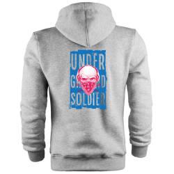 HH - Back Off Under Ground Soldier Cepli Hoodie - Thumbnail