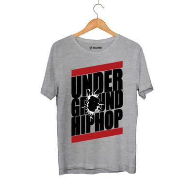 HH - Underground HipHop Gri T-shirt (Seçili Ürün)