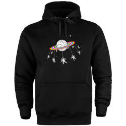 HH - The Street Design Unicorn Planet Cepli Hoodie - Thumbnail