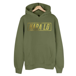 Velet - HH - Velet Hara Lo Gold Edition Haki Cepli Hoodie