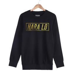 Velet - HH - Velet Hara Lo Gold Edition Siyah Sweatshirt
