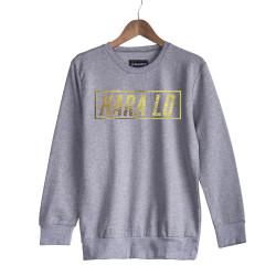 Velet - HH - Velet Hara Lo Gold Edition Gri Sweatshirt