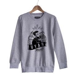 Velet - HH - Velet Uyan Gri Sweatshirt
