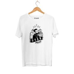 Canbay & Wolker - HH - Canbay & Wolker Uyan Beyaz T-shirt