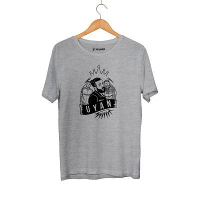 HH - Velet Uyan Gri T-shirt (Seçili Ürün)