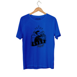 Canbay & Wolker - HH - Canbay & Wolker Uyan Mavi T-shirt