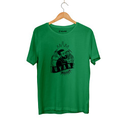 Canbay & Wolker - HH - Canbay & Wolker Uyan Yeşil T-shirt
