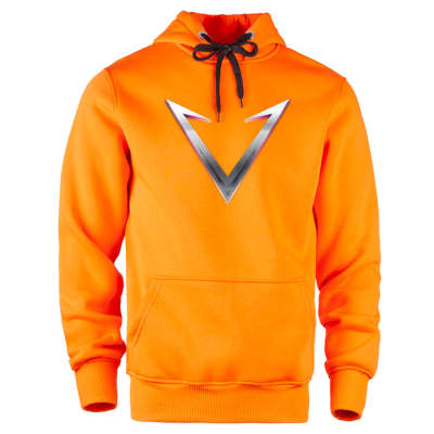 HH - Vicrains Logo Turuncu Cepli Hoodie (Fırsat Ürünü)