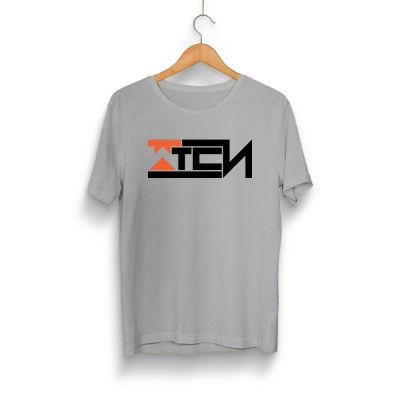 HH - Wtcnn Logo Gri T-Shirt (Seçili Ürün)
