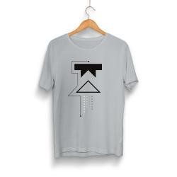 Outlet - HH - Wtcnn W Logo Gri T-shirt (Seçili Ürün)