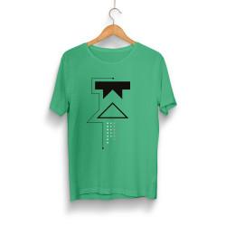 Outlet - HH - Wtcnn W Logo Yeşil T-shirt (Seçili Ürün)