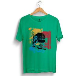 Hidra - HollyHood - Hidra Hoşgeldin Dünya Senin Evin Yeşil T-shirt