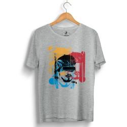 Hidra - HollyHood - Hidra Hoşgeldin Dünya Senin Evin Gri T-shirt