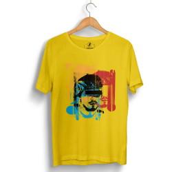 Hidra - HollyHood - Hidra Hoşgeldin Dünya Senin Evin Sarı T-shirt