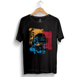 Hidra - Hollyhood - Hidra Hoşgeldin Dünya Senin Evin Siyah T-shirt