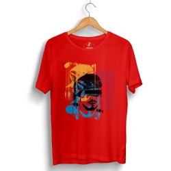 Hidra - Hollyhood - Hidra Hoşgeldin Dünya Senin Evin Kırmızı T-shirt