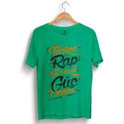 Hidra - HollyHood - Hidra Türkçe Rap Yeşil T-shirt