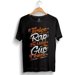 Hidra - HollyHood - Hidra Türkçe Rap Siyah T-shirt