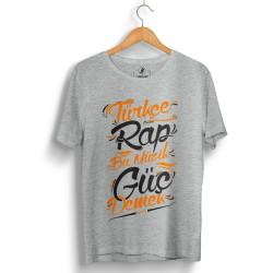 Hidra - HollyHood - Hidra Türkçe Rap Gri T-shirt