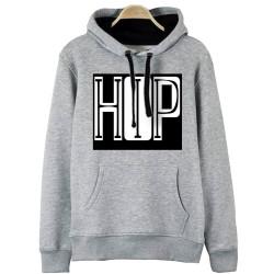 Groove Street - HH - Groove Street HipHop Font Design Gri Hoodie