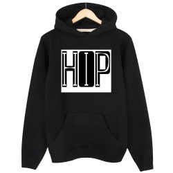 Groove Street - HH - Groove Street HipHop Font Design Siyah Hoodie