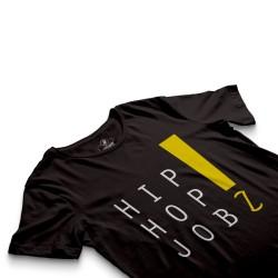 HH - Joker HipHop Jobz Siyah T-shirt - Thumbnail
