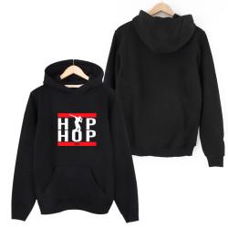 Groove Street - HH - Groove Street HipHop Run Siyah Cepli Hoodie