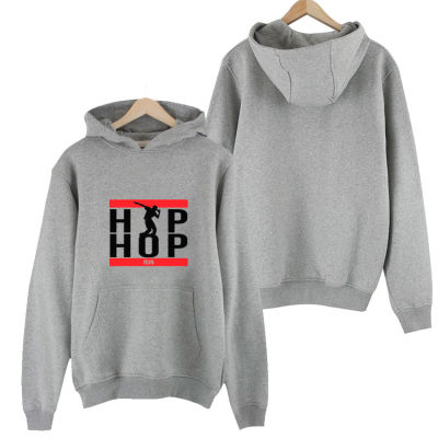 HH - Groove Street HipHop Run Gri Cepli Hoodie