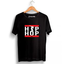 Groove Street - HollyHood - Grove Street Hiphop Run Siyah T-shirt