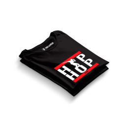 HH - Groove Street Hiphop Run Siyah T-shirt - Thumbnail